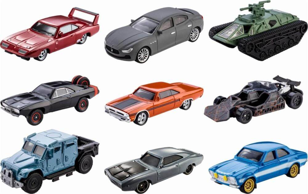 [Hot Wheels] Fast & Furious Size Scale 1:55 Die-Cast Vehicles Assortment