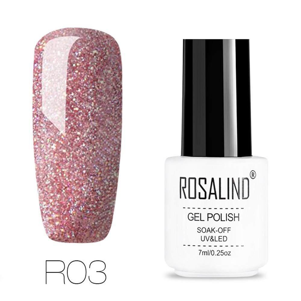 Kohlershop-ROSALIND Nail  Shining UV Gel Polish Soak Off Nail  Art Topcoat Base Coat Gel Va Philippines