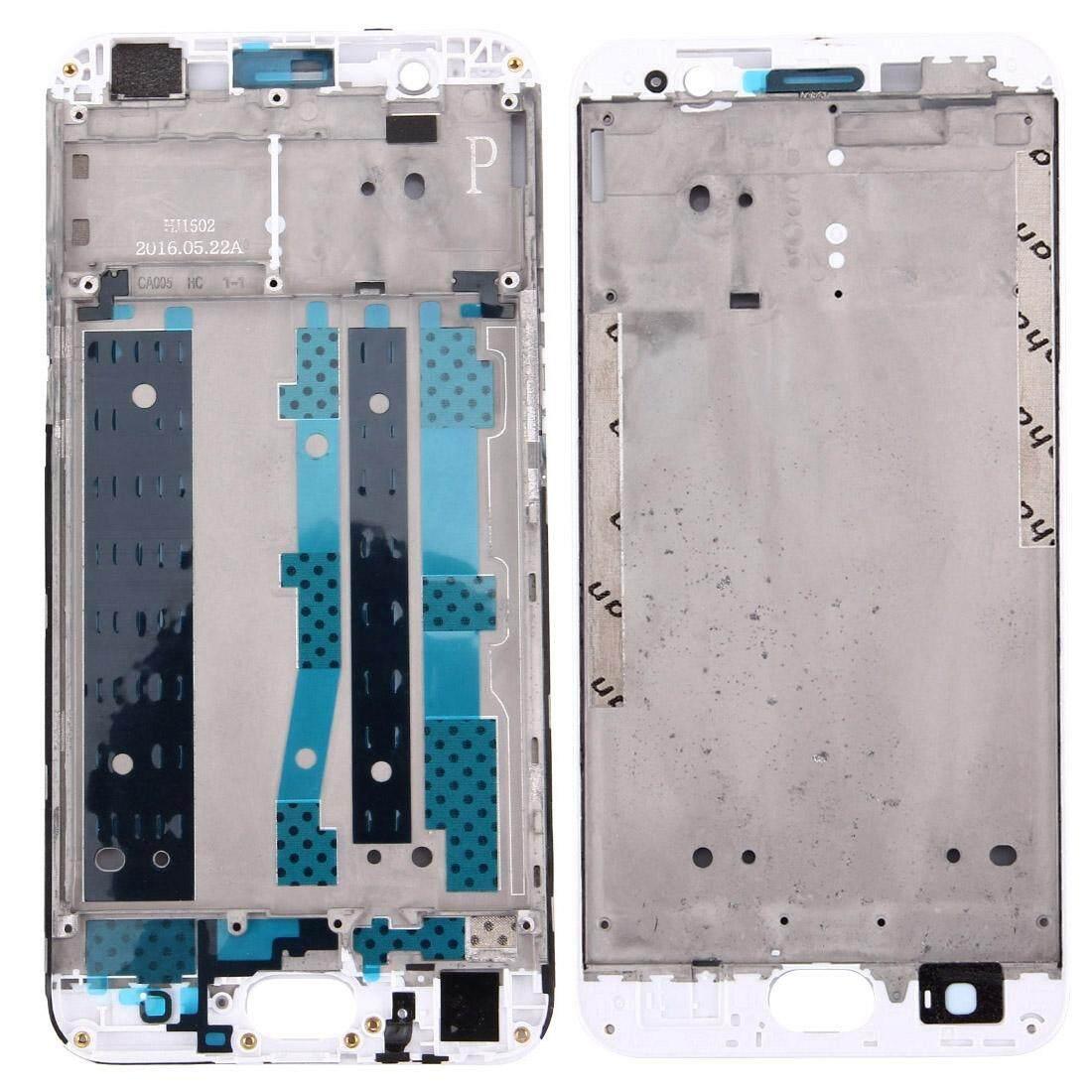 OPPO A59/F1s Hunian Depan LCD Bingkai Pelat Bezel (Putih)