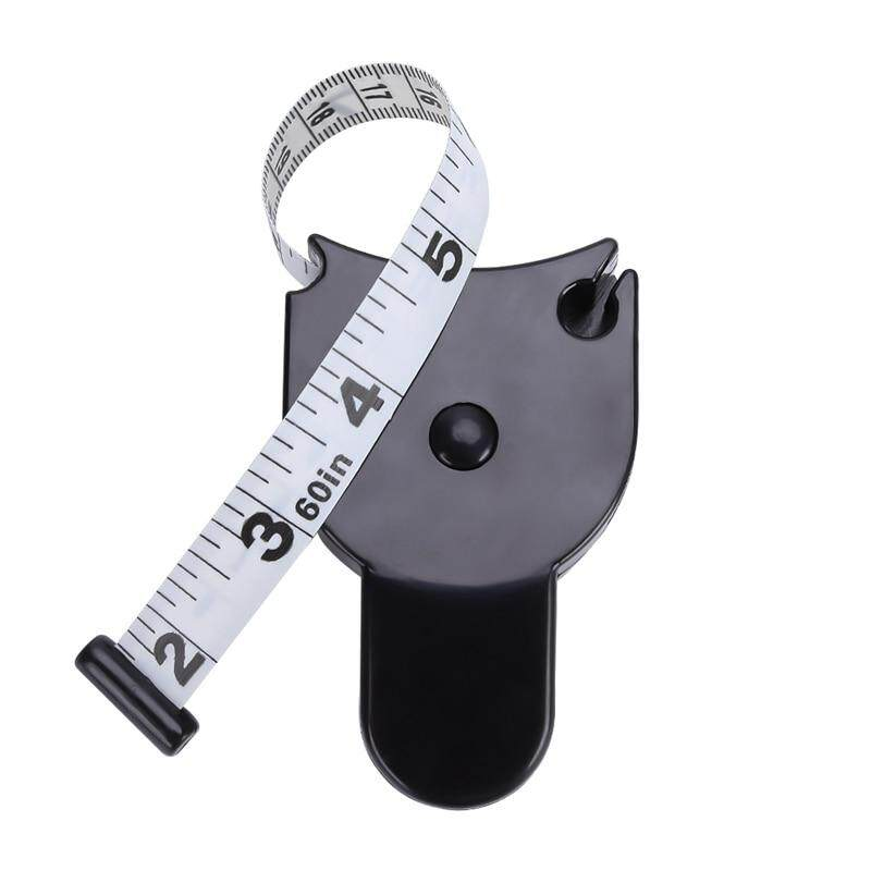 Meiyang New Style 1pc Fitness Accurate Caliper Measuring Tape Body Fat Weight Loss Measure Retractable Ruler Accessories By Meiyang.
