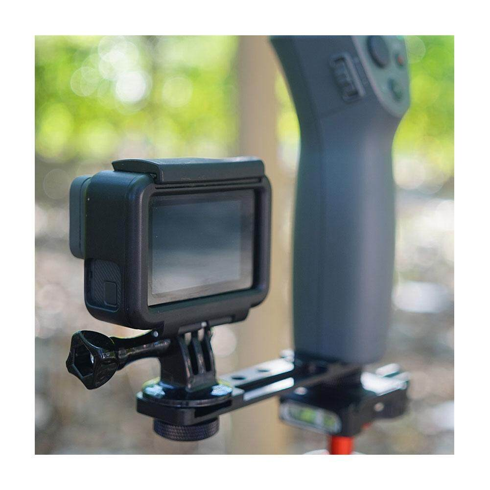 Features Smartphone Clip Holder Monitor Extension Bracket Support Dji Osmo Mobile 2 Gimbal Detail Gambar Mount Stabilizer For Stylepictured Terbaru