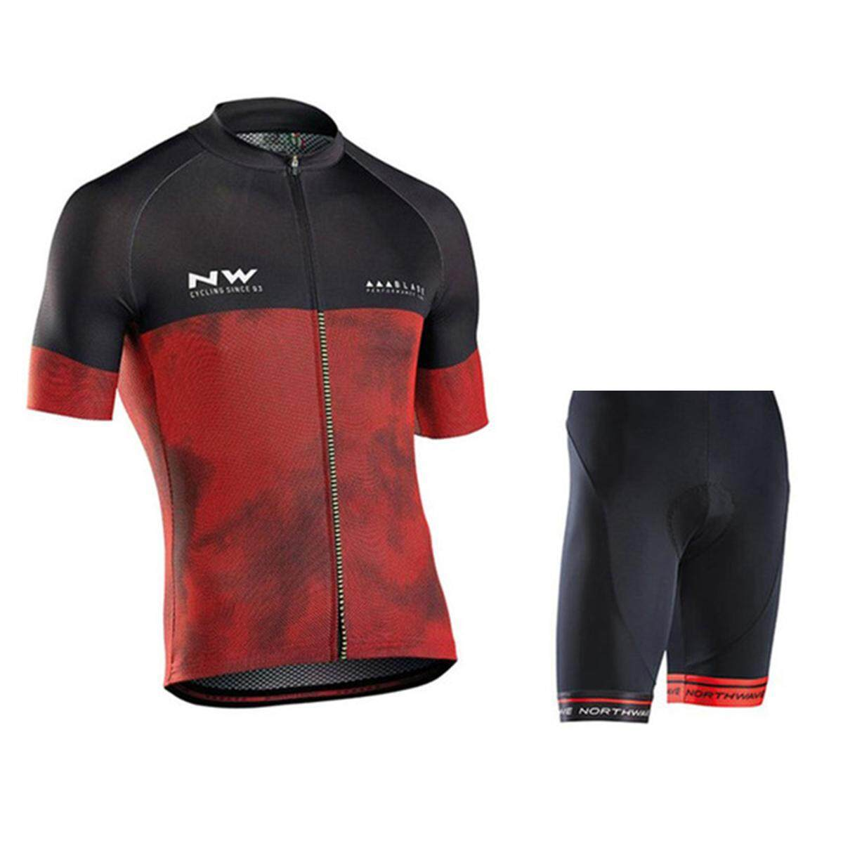 2018 Professional Team Cycling Jersey Suit Sport Wear Short Sleeve Summer Bike  Clothes e74e9e2af