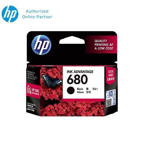 HP 680 (F6V27AA) Ink Cartridge- Black