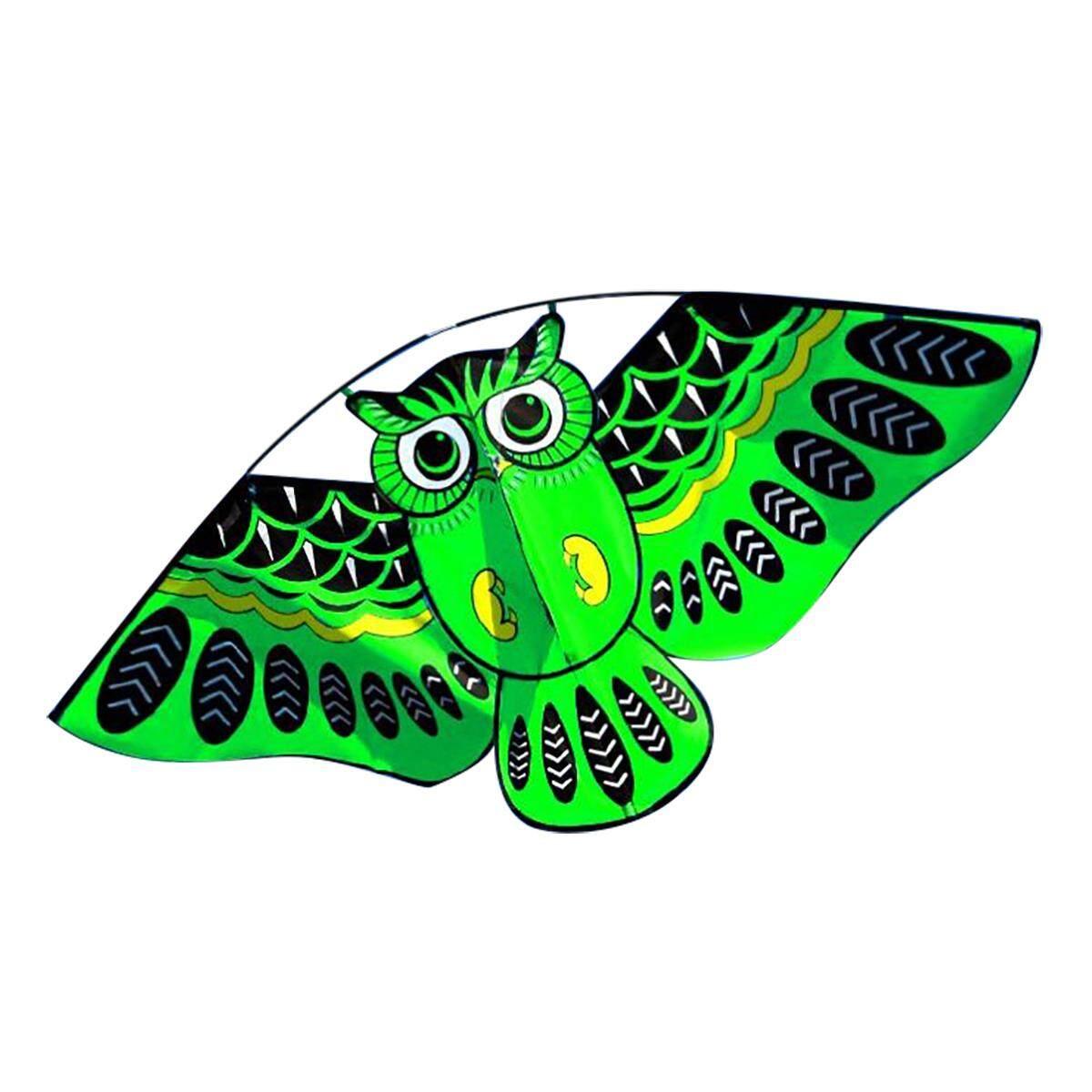 Hình ảnh 43'' Cute Owl Ainimal Delta Kite Single Line Breeze Outdoor Fun Sports for Kids