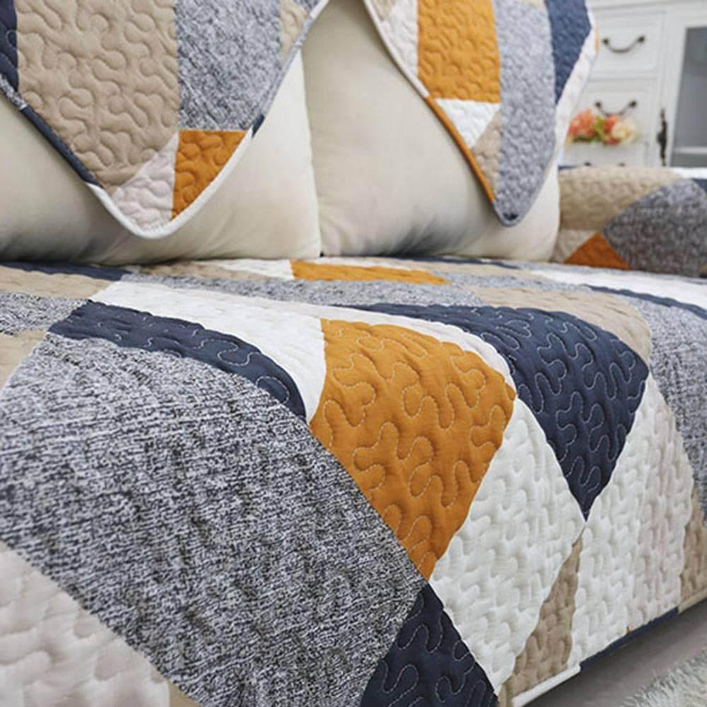 Kain Penutup Cover Furnitur Cotton Floral Headboard Tutup Sandaran Springbed Zoahu Sarung Sofa Katun Untuk Ruang Keluarga Lembut Non Slip Bolak Balik Kustom