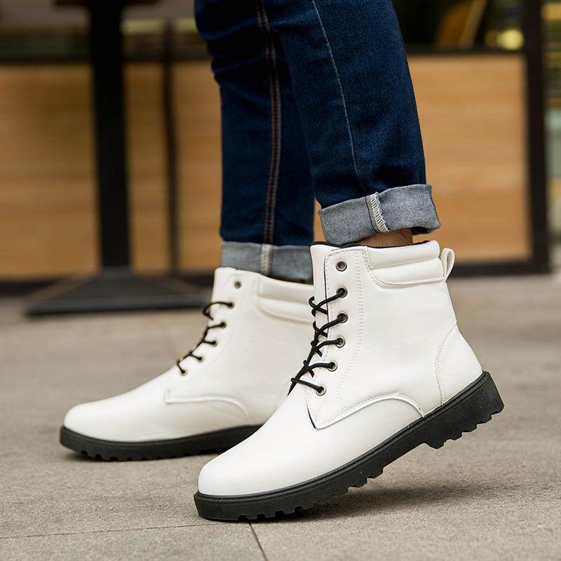 29a4d4f2a68 Autumn   Winter Students Canvas Shoes man Trend Hight-top Casual Shoes  Korean Style Men