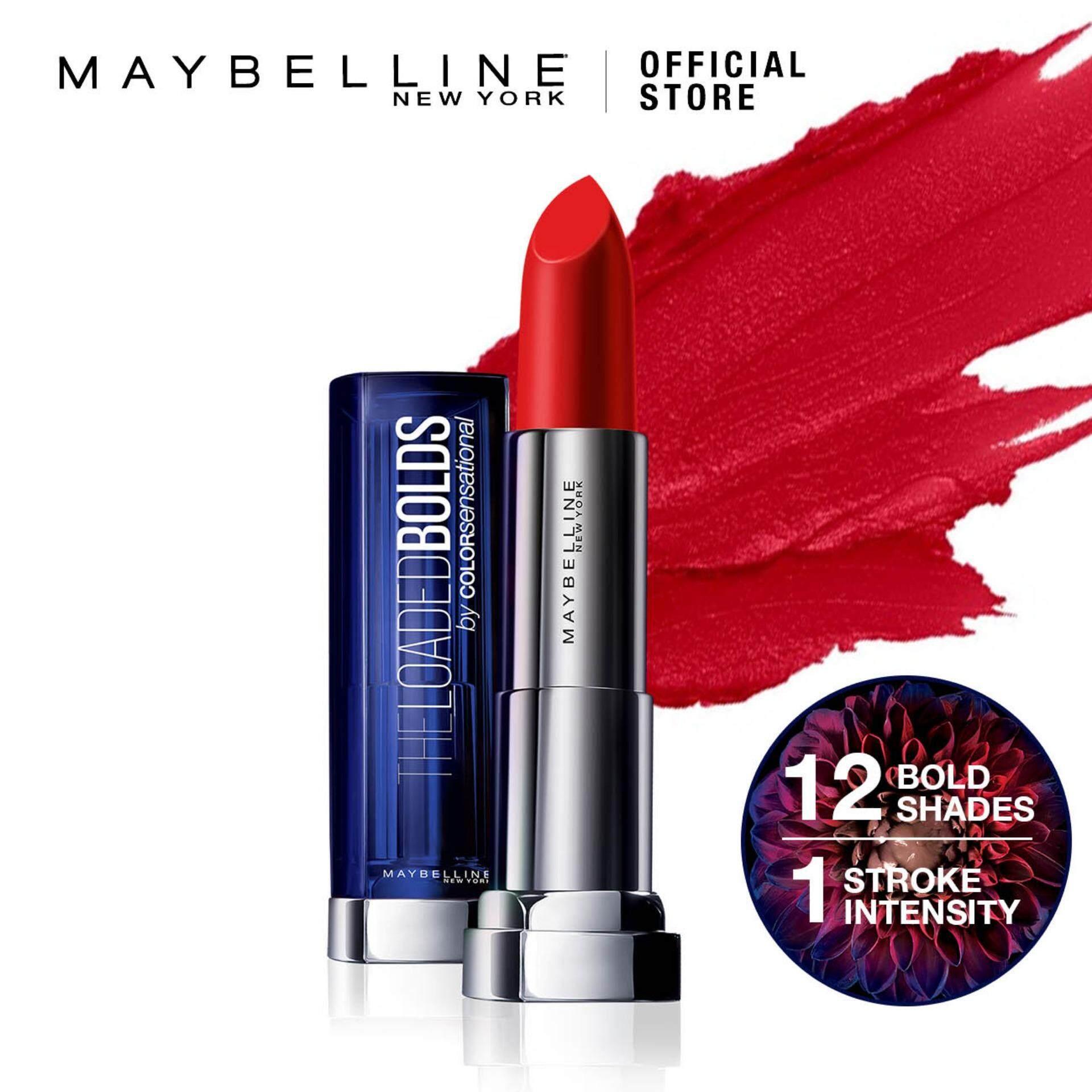 Fitur Maybelline Color Show Blush Dan Harga Terbaru Info On Sensational The Loaded Bolds Lipstick
