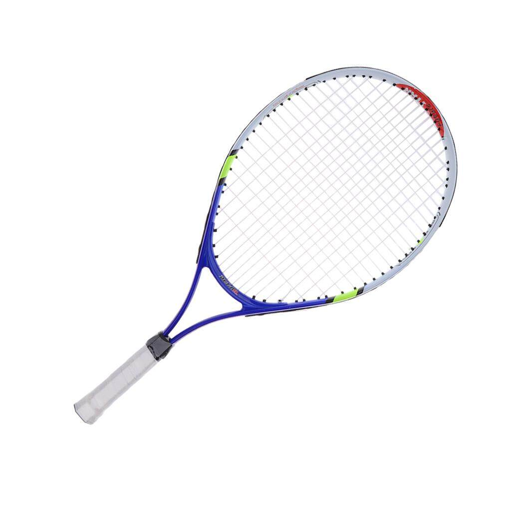07ef353a4 Miracle Shining Aluminium Alloy Kids Junior Tennis Racquet Training Racket  With Carry Bag Blue
