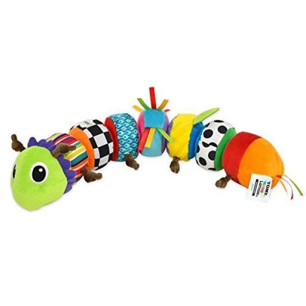 Lamaze-Mencampur dan Mencocokkan Caterpillar Mainan, Bayi Bermain dengan Warna, Suara yang Sesuai dengan dan Teka-teki dengan Warna-warna Berani, Pola Bermain, Crinkly Suara dan Dilepas Segmen 6 Bulan dan Lebih Tua