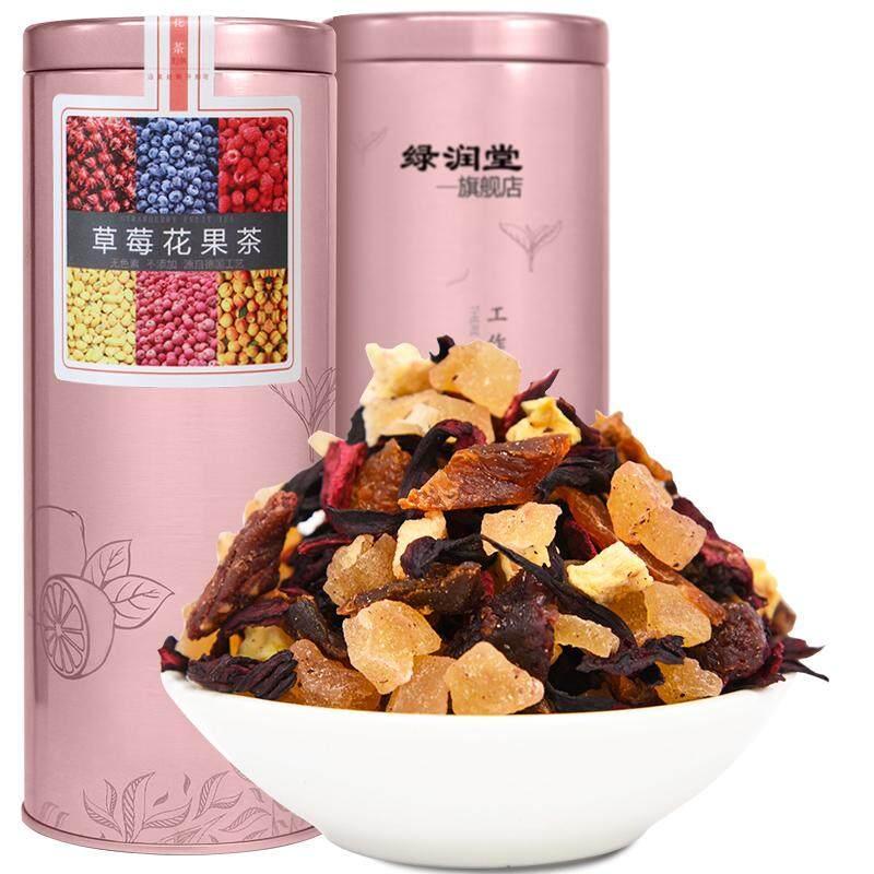 Flower Fruit Tea Roselle Strawberries Tea - intl
