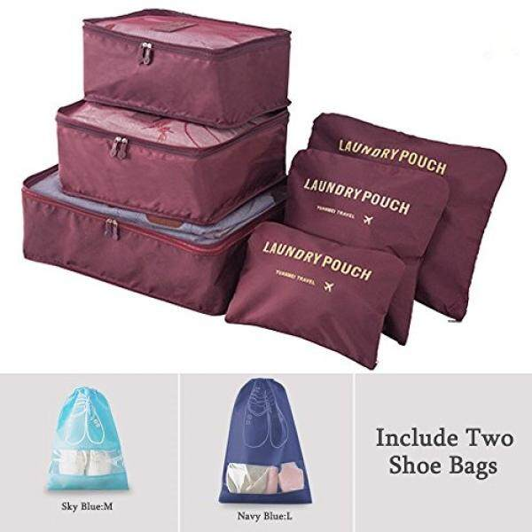 BAYCHEER et Packing Cubes Travel Storage Bags Travel Multi-functional Clothing Sorting Packages Organizers with