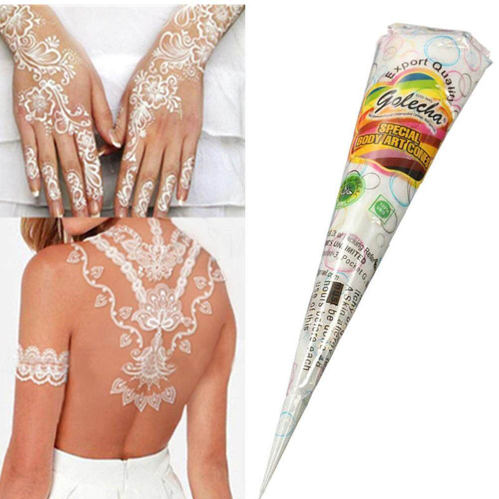 Features Fancyqube India Henna Temporary Tattoo Stencils Kit Hand