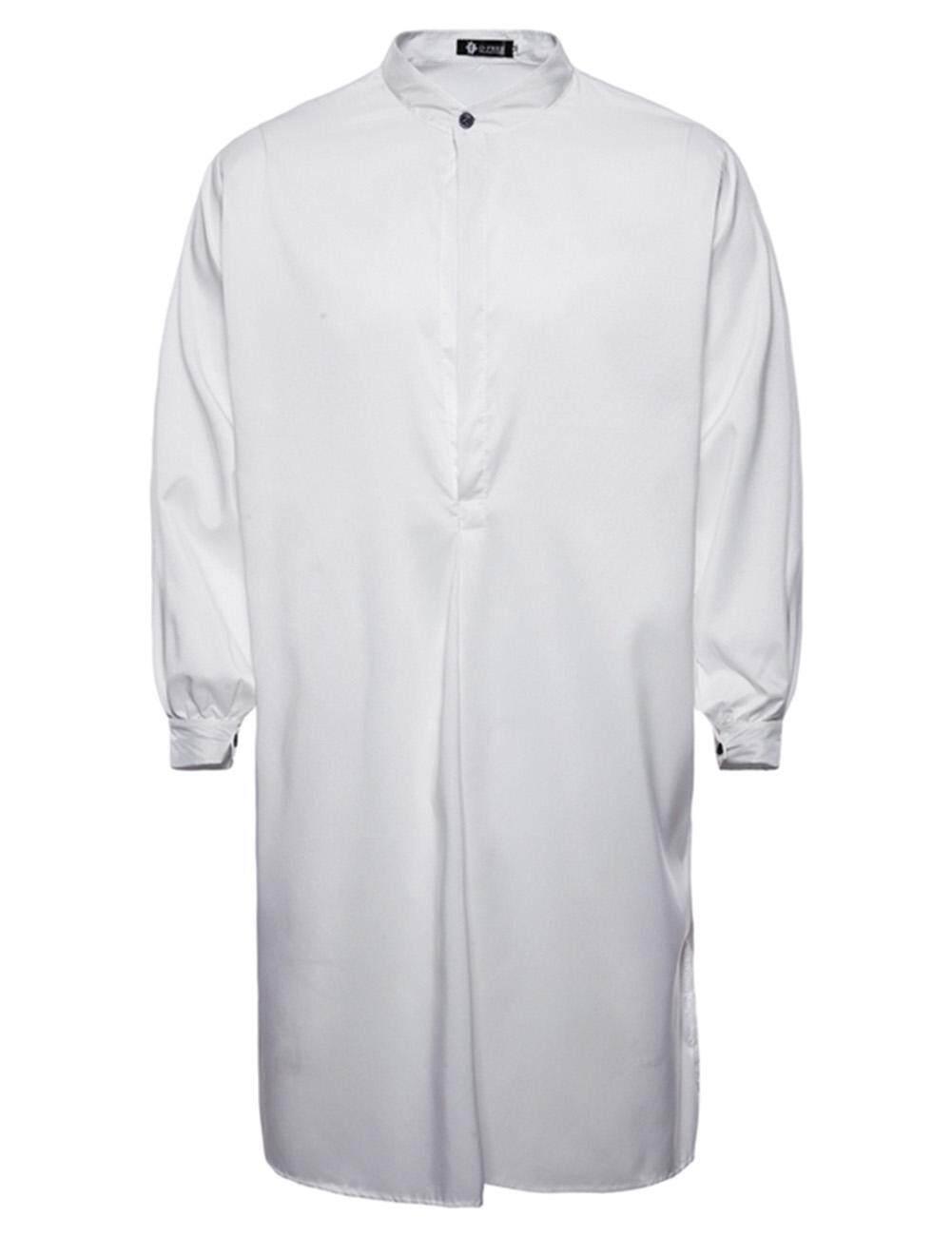 สตาร์มอลล์ผู้ชายชายสไตล์มุสลิมเสื้อคลุมยาวชุดเสื้อ.