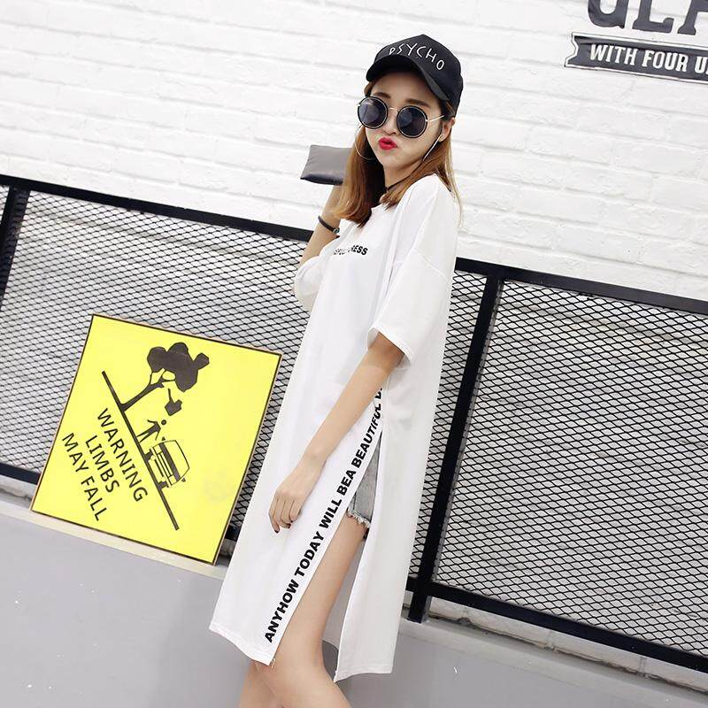 e7f891bdbfb5 Summer New Style women dress for women Korean Style Cotton Mid-length dress  for women