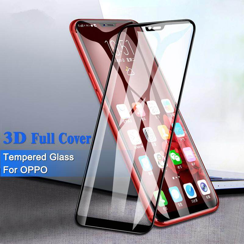 Features 3d Full Cover Tempered Glass For Oppo F9 A5 F3 Plus A3s F7