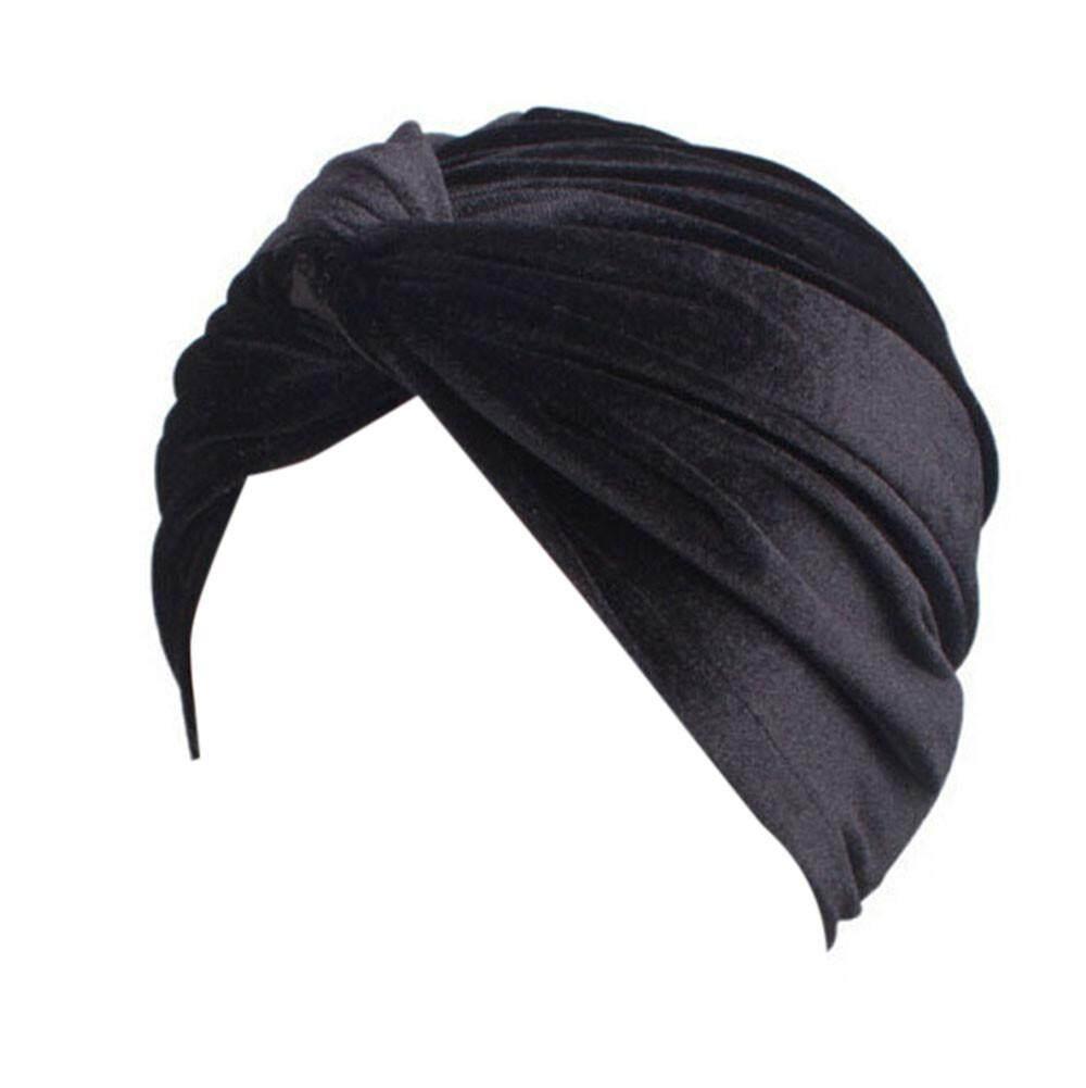 Wanita Kanker Topi Chemo Beanie Syal Selendang Kepala Turban Cap  Fashionting-Intl 0faa56d0ca
