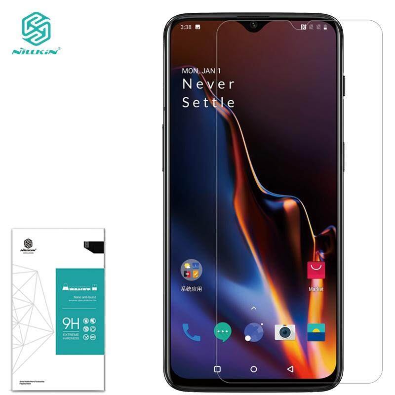 OnePlus 6T Tempered Glass, Nillkin 0.3mm Amazing 9H Screen Protector tempered glass film for