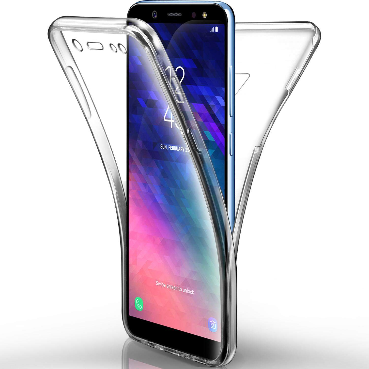 Fitur For Samsung Galaxy A6 Plus 2018 Hard Case Tempered Glass Tpu