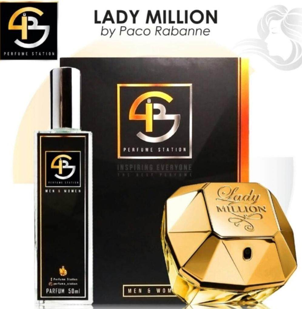 Perfume Station (Lady Million By Paco Rabanne)