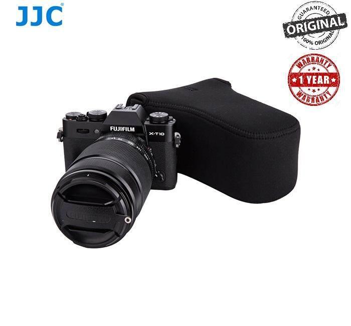 JJC OC-F3BK Black Neoprene Mirrorless Camera Case Pouch Bag for Fujifilm XA-2 Xa-3 XT-10 Olympus Canon EOS