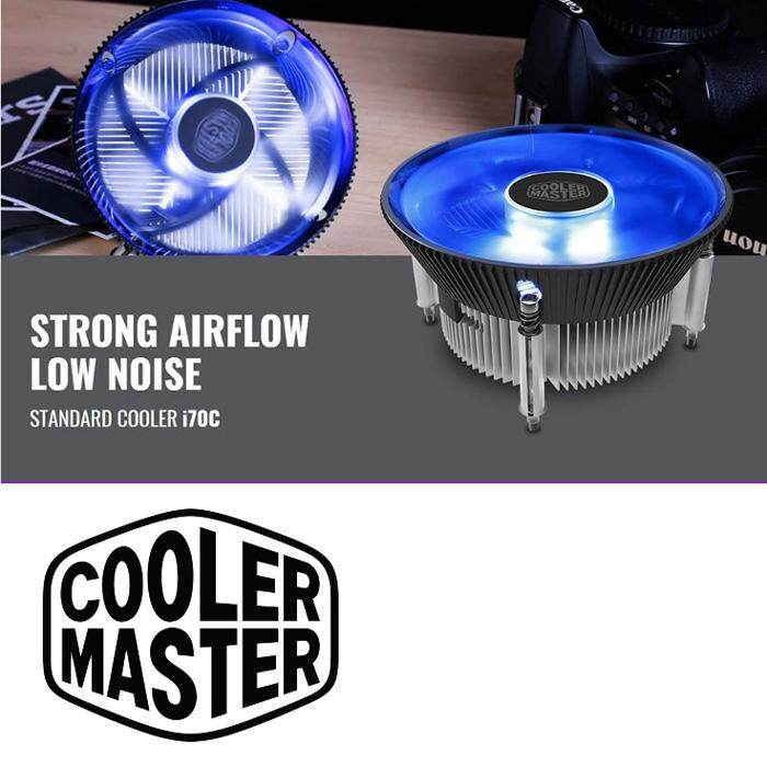 Official Cooler Master i70C CPU Cooler Blue LED Fan For Intel Socket 1156/1155/115 /1150