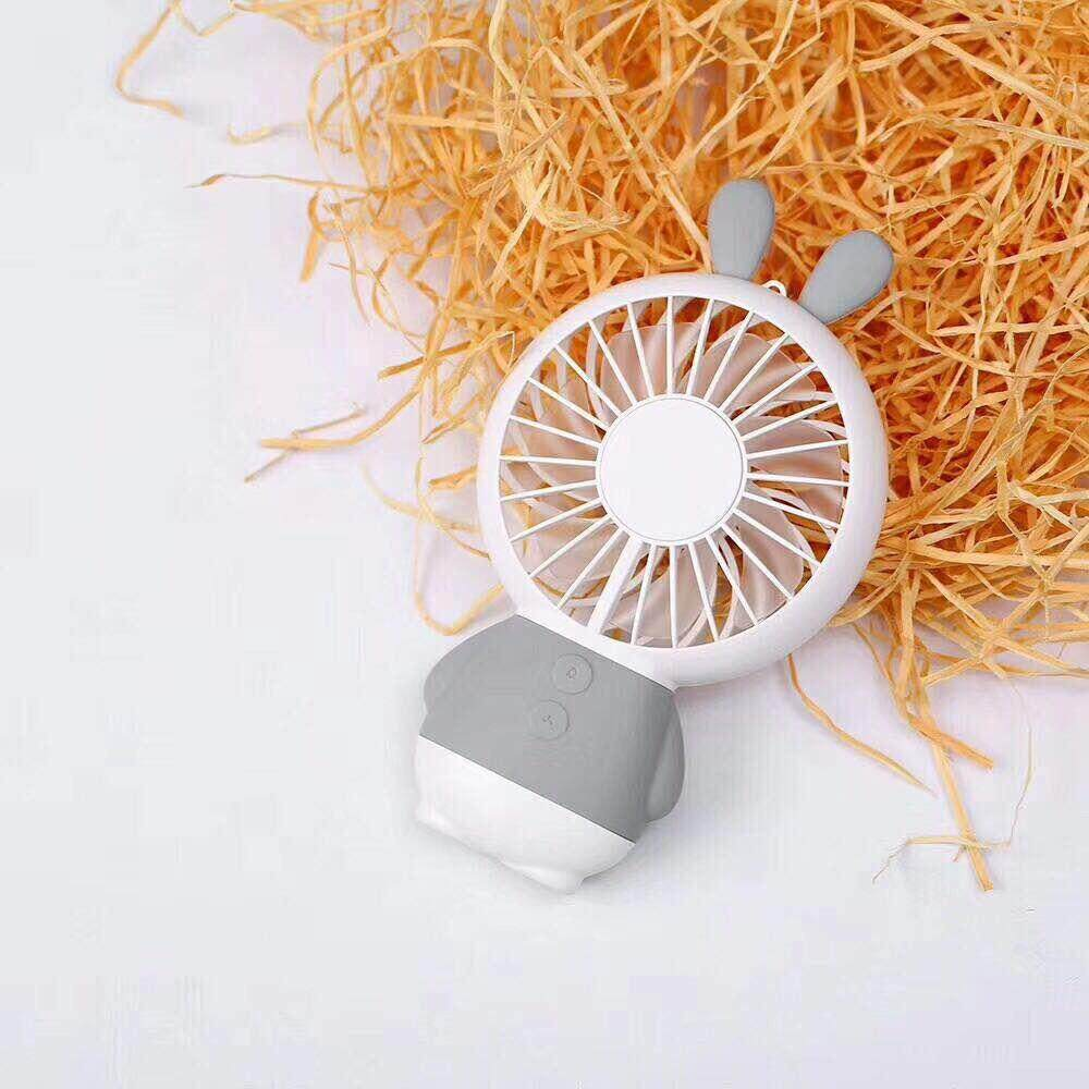 Fitur Kipas Angin Mini Usb Handy Fan Murah Pegangan Tangan Dan Portable Rechargeable Desk Rabbit Handheld Personal Led Light Ventilator