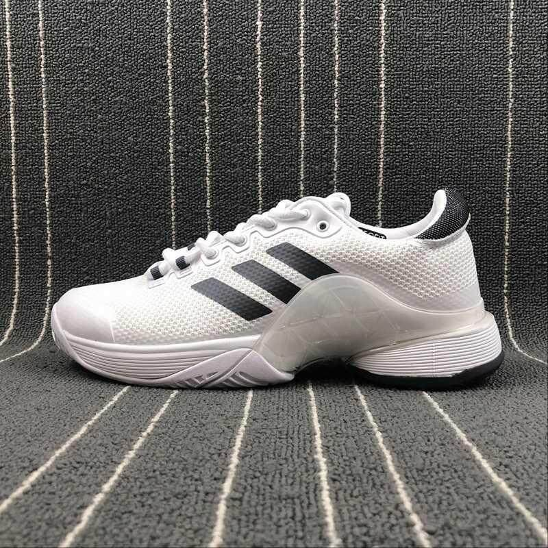 new style bc6d6 738de Original Men s Barricade 2017 Boost Classic Tennis Shoe Fashion Casual  Sports Running Shoes Sneakers DA9072 White
