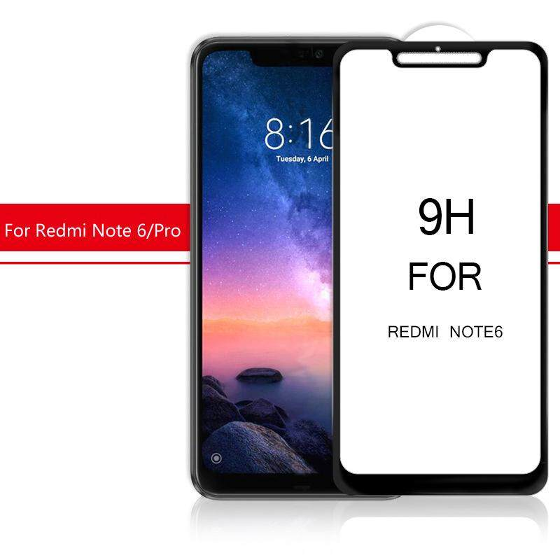 9H 5D Full Screen Coverage Protector Tempered Glass For Redmi Note 6 Pro(2018) - 4