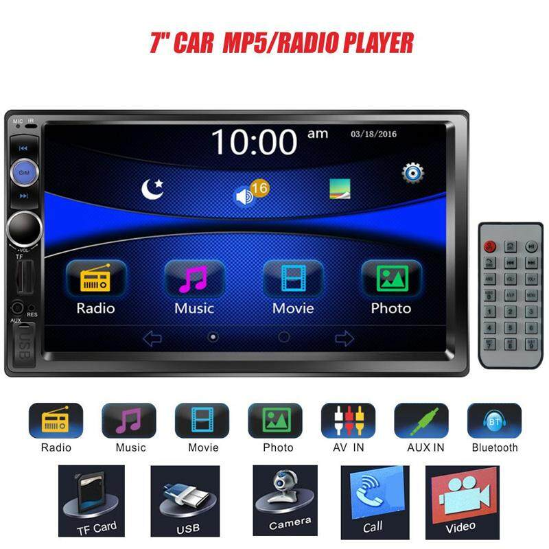 Aukey Store Car Mp5 Mp5 Player Smart In-Dash Remote Control Bluetooth Fm - Intl.