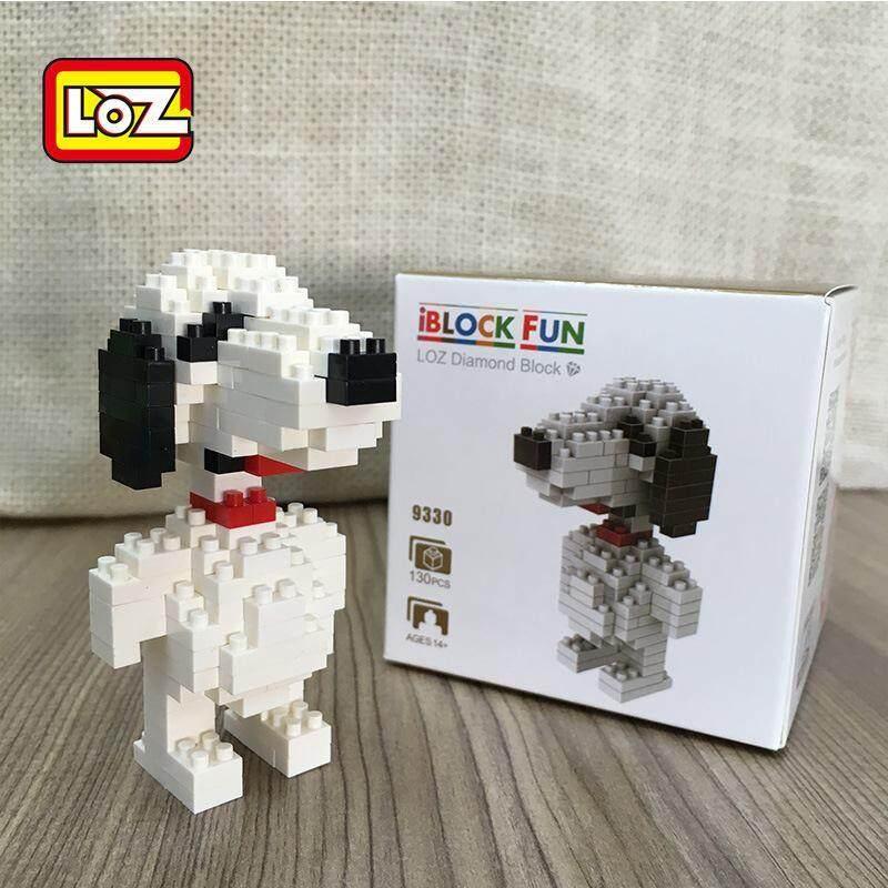 LOZ DIY Snoopy Nanoblock Puzzle
