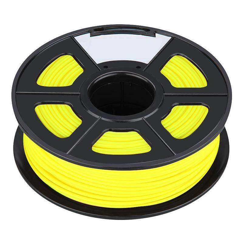 Professional Filament 3D Printing Materials Spool of 3D Filament ABS 1Kg With NO Air Bubbles for RepRap MakerBot Ultimaker etc (3.00mm, Yellow)