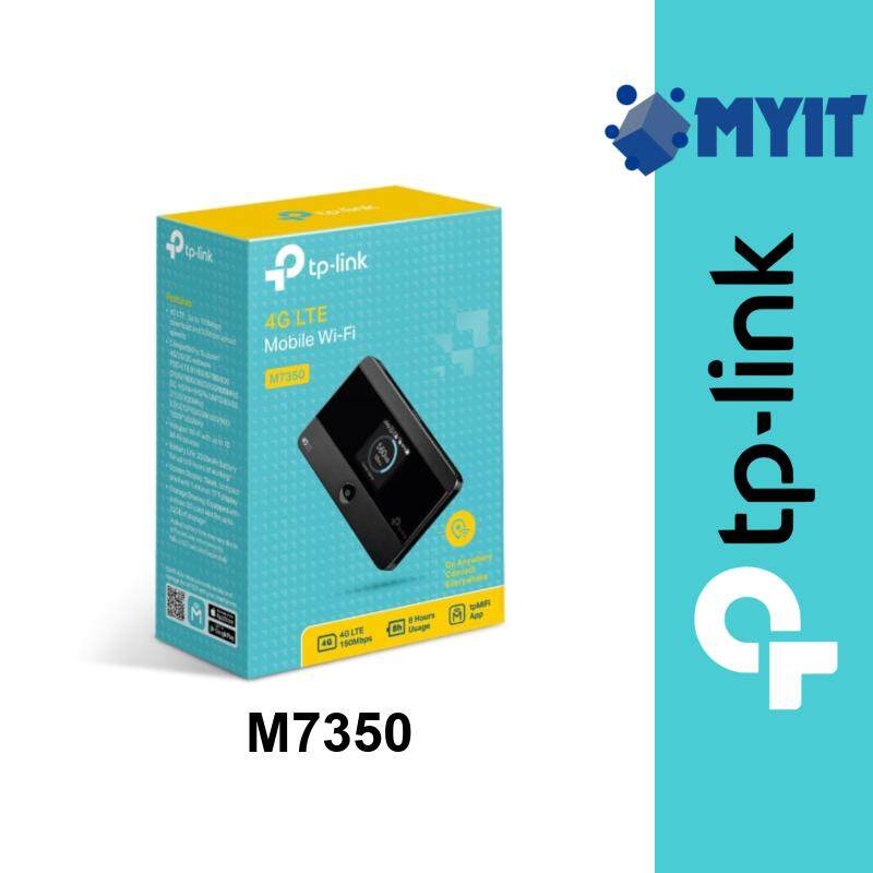 TP-Link M7350 4G LTE Advanced Dual Band Mobile WiFi 150Mbps MiFi Hotspot 2550mAh MicroSD Supports up to 32GB