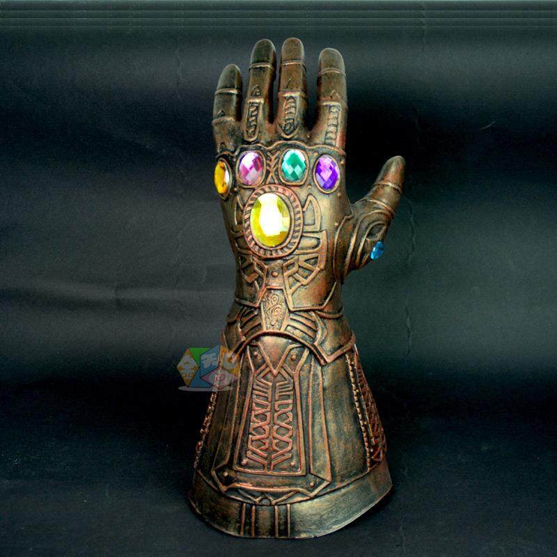 【Sarung Tangan Tembaga Latex Bronze】Avengers 3 Halloween Latex Infinity Fighter Gloves Cos Alat Tulis Komik di Sekitar Iron Man