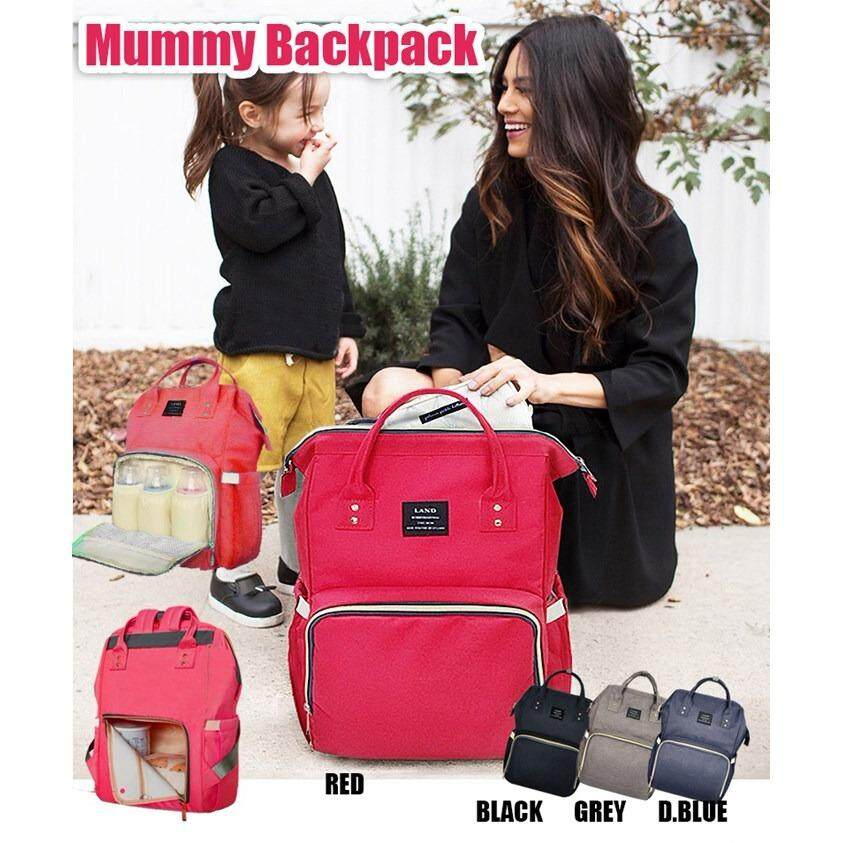 multifunctional mummy backpack (Black)