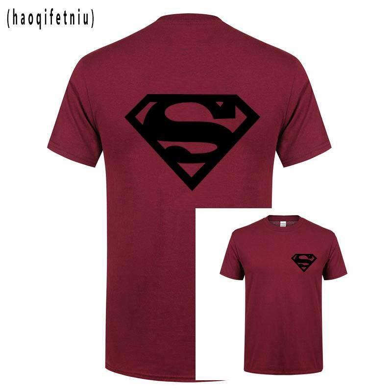61bcee11004 Summer Mens Comic DC Super Hero T Shirt Superman Batman Captain America the  Marvel Movie Men