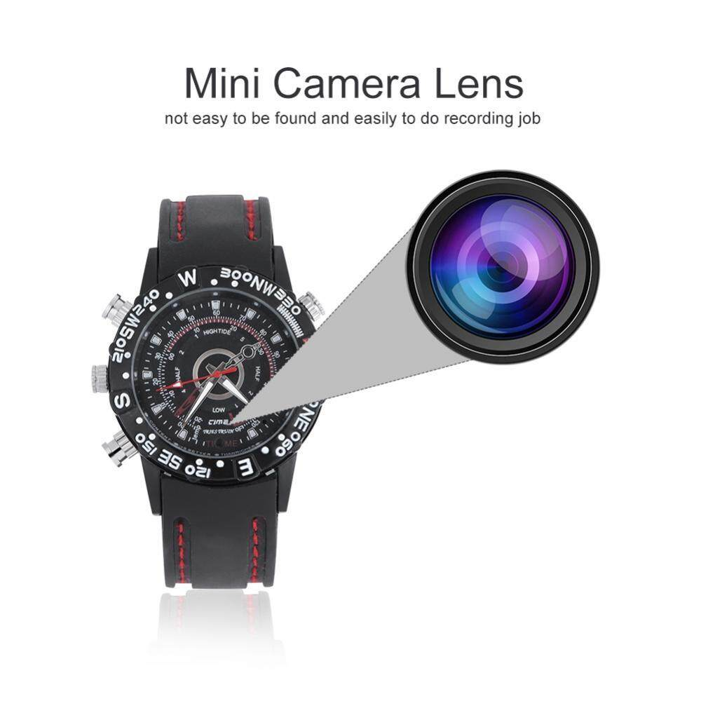 Duoqiao High Definition Waterproof Mini Wrist Watch Camera Video Audio Recorder Camcorder(16g)(black) By Duoqiao.