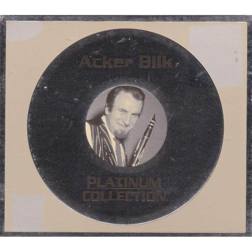 Acker Bilk Platinum Collection HDCD Mastering CD with booklet ... cover yellowish