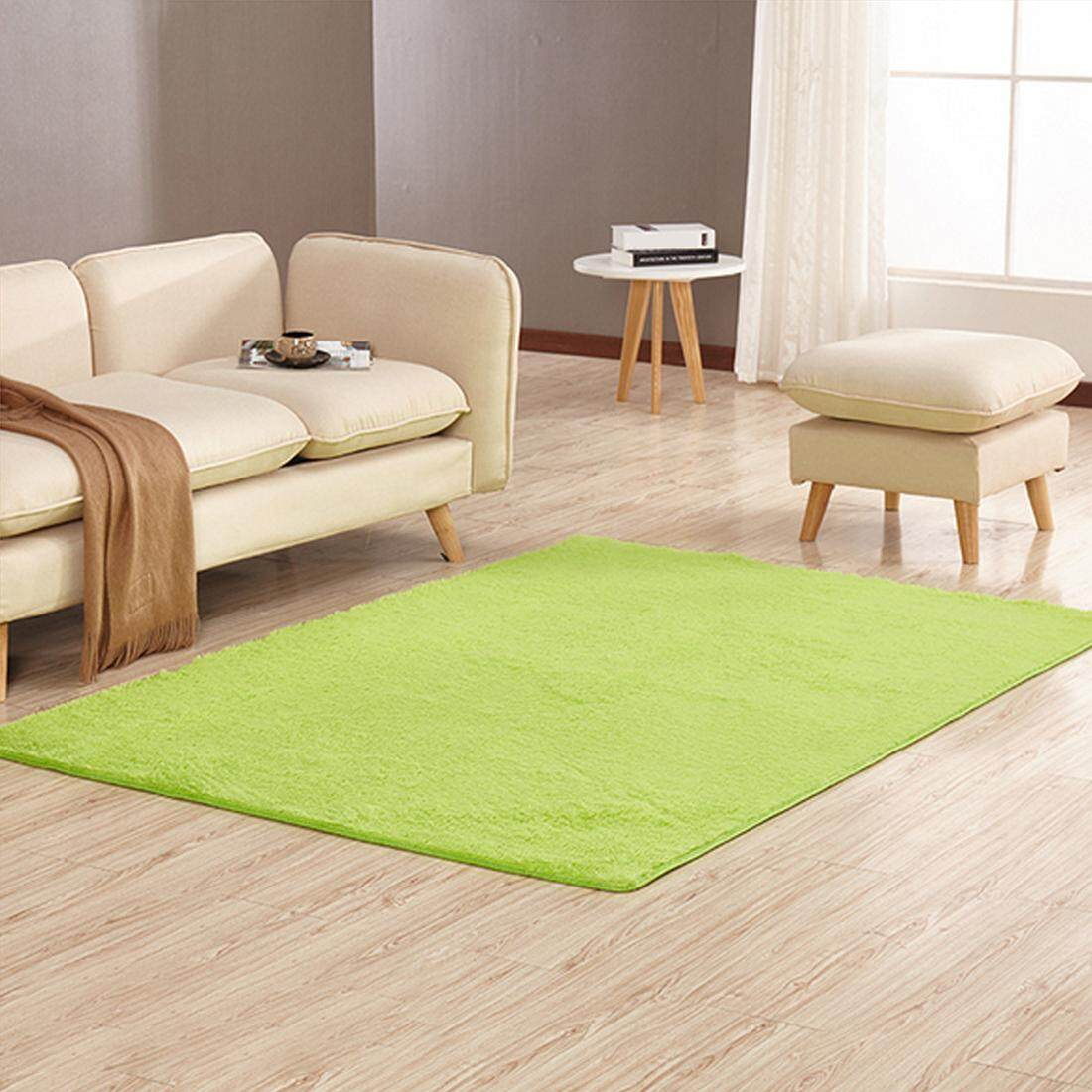 Shaggy Fluffy Area Rug Soft Floor Mat Anti-skid Carpet 160*200cm - intl