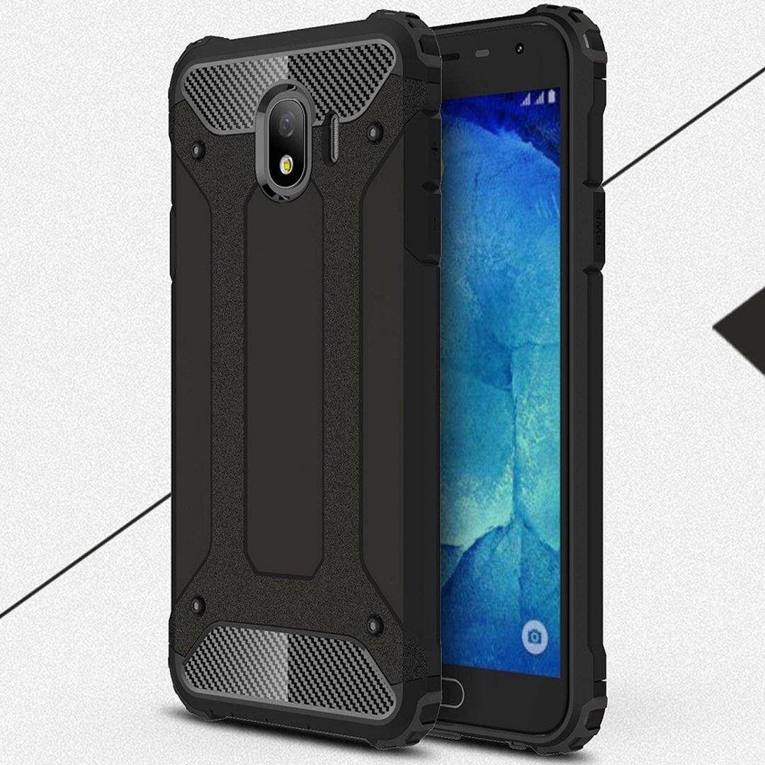 Fitur Hardcase Case For Samsung Galaxy I9082 I9060 Grand Neo Ultra Tempered Glass J4 2018 J400 Slim Premium Dual Layer Hybrid Shockproof Armor Cover Anti