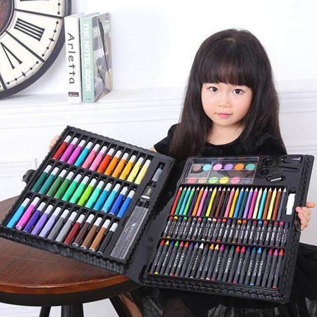 150pcs Water Color Pen Painting Art Crayon Kids Color Set