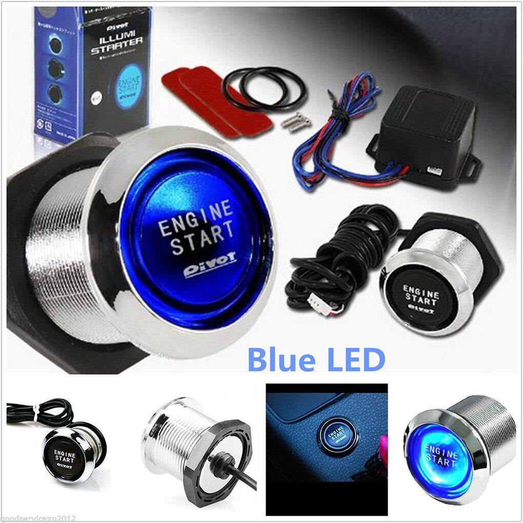 Ignition System For Sale Electronic Online Brands Prices Suzuki Gsxr 1000 Wiring Diagram Blue Led Light Car Engine Start Push Button Switch Starter Touch Kit All Vehicles