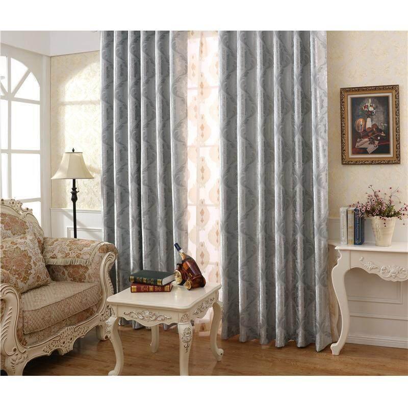 [OrangeHome] 150*250 CM (1 pc) Blackout Curtain Drape Hook Window Room Bedroom Balcony Grey A01-OSH - intl