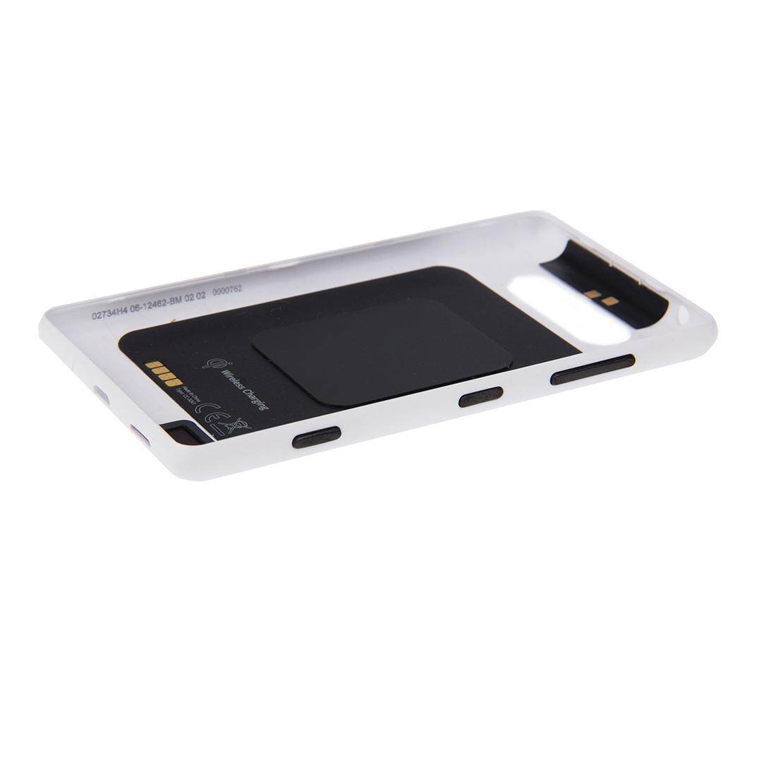 ... Warna Solid NFC Penutup Belakang untuk Nokia Lumia 820 (Putih)-Intl - 4 ...