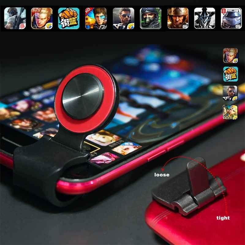 Airforce 1pcs Hot Type Smartphone Game Touch Screen Joysticks Mobile Phone Mini Game Joystick for Phone