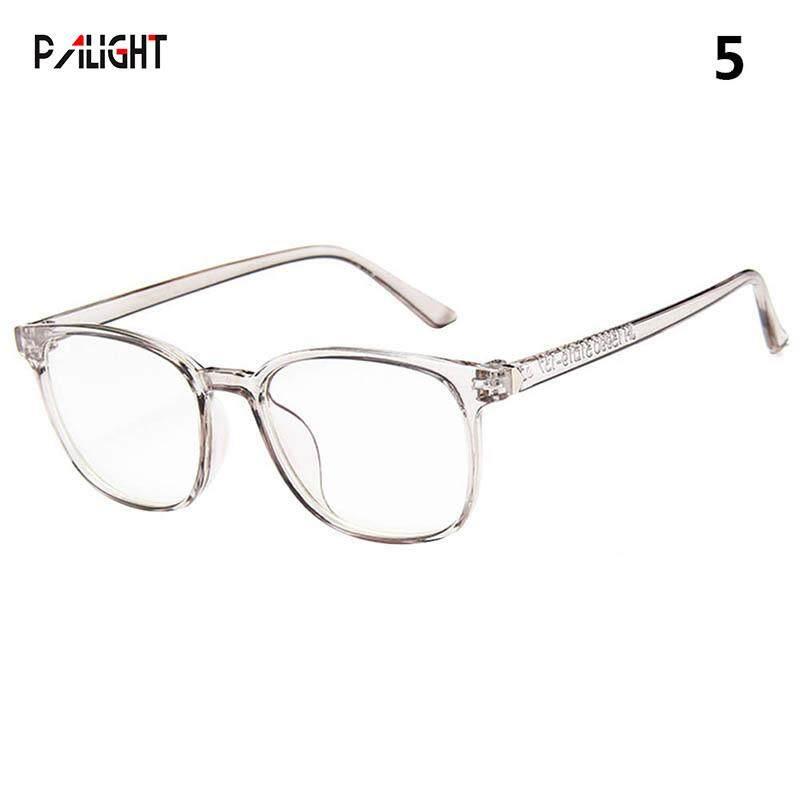 7017e874a1 PAlight 1 Pcs Women Vintage Glasses Clear Lens Eyewears Radiation  Protection Dustproof For Unisex