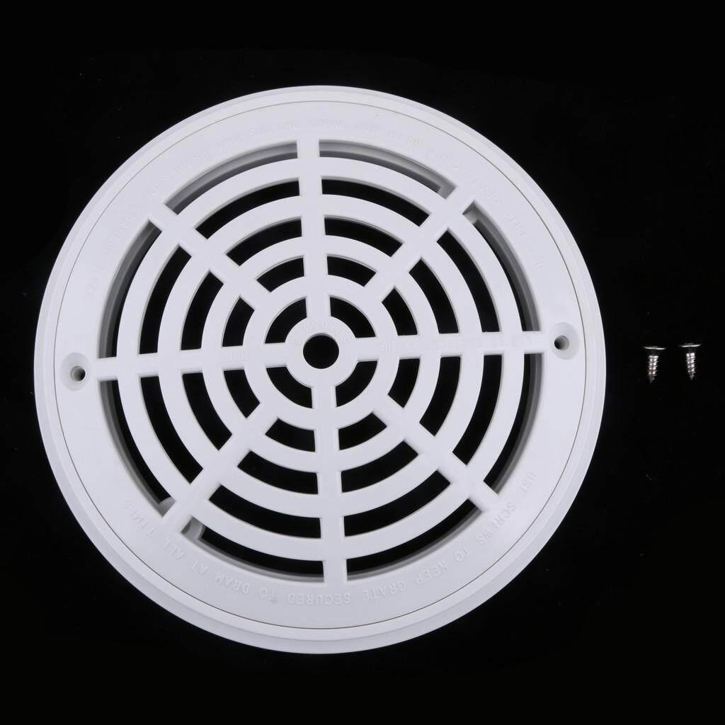 Blesiya 4 PC 8-Inch Bể Bơi Đa Năng Chính Thoát Nước-Trắng