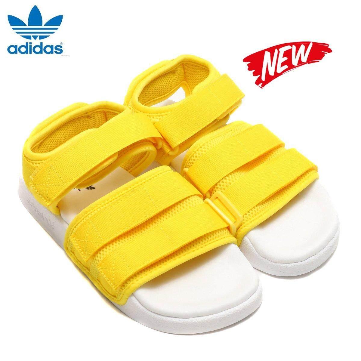 5336cca8ce64 Adidas Original New Unisex Adilette Sandal CQ2673 Yellow White 100% Original