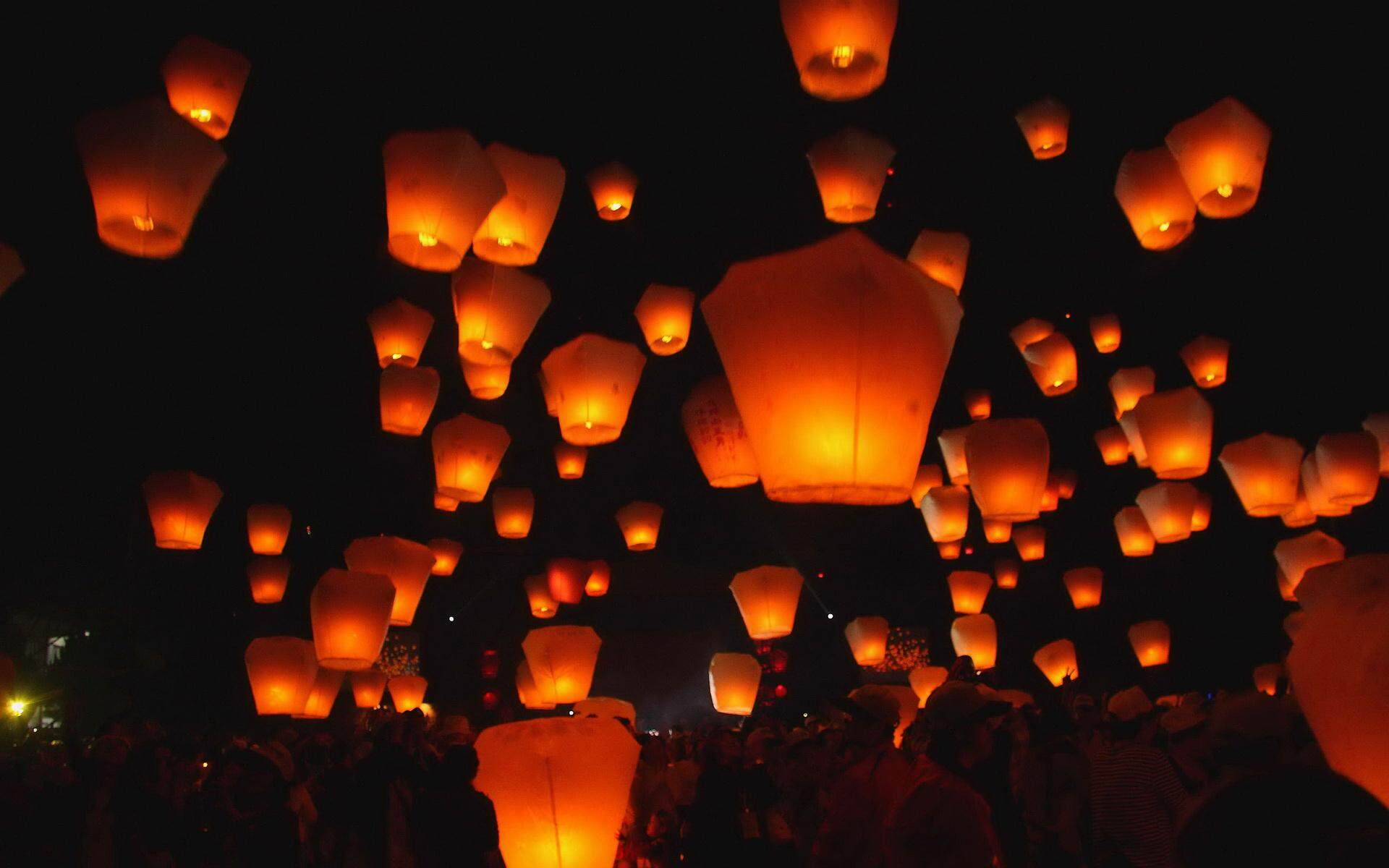Buy Sell Cheapest Flying Sky Lanterns Best Quality Product Deals Lampion Terbang 10 Pcs Set Wishing Lamp Kong Ming Round Paper Chinese