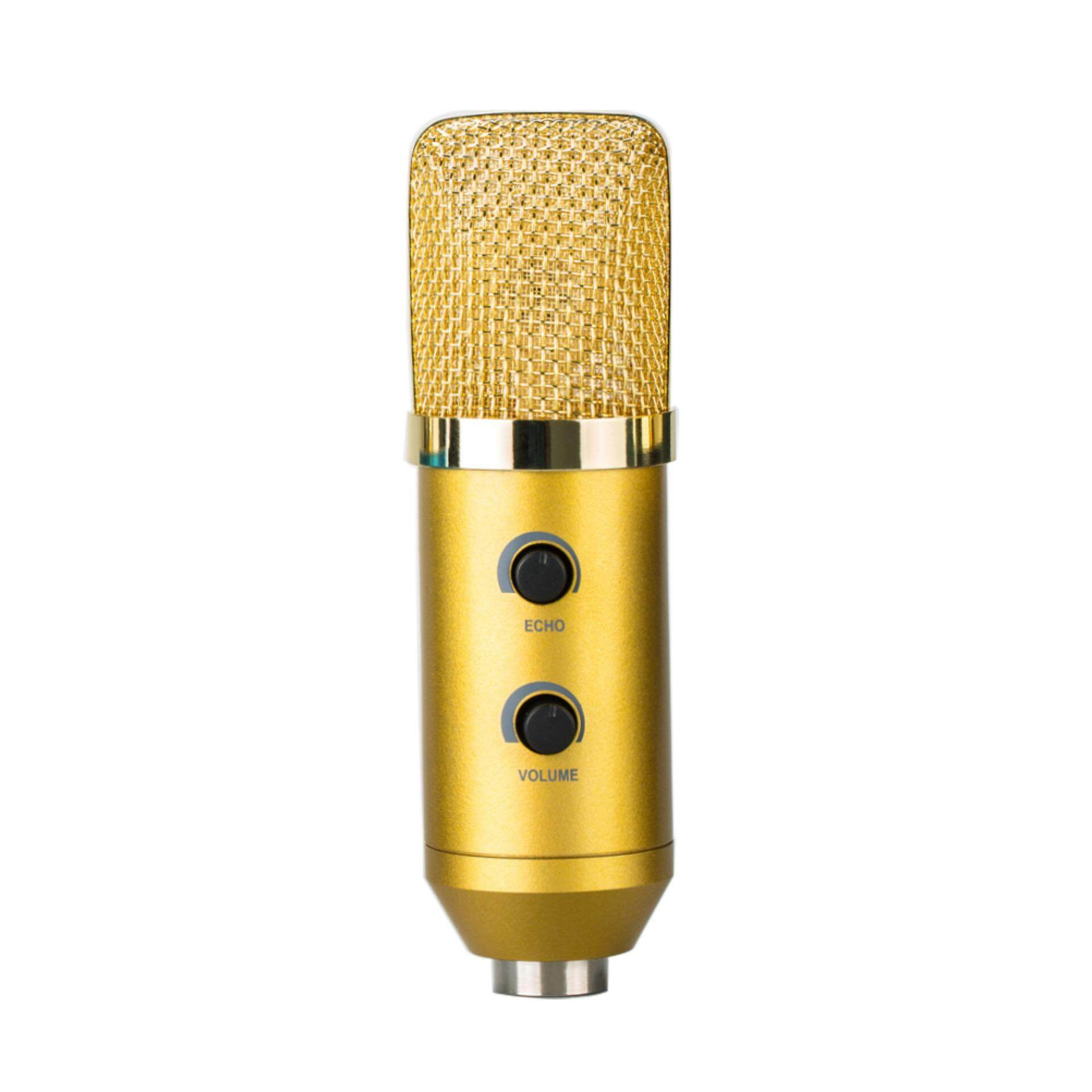MK-F100TL Wired Microphone USB Condenser Sound Recording Mic for ChattingSinging