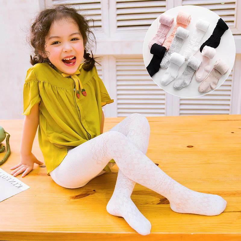 15f88dcab7bf9 Summer Tights for Girls Cotton Child Pantyhose Mesh Kids Dance Tights Girls  Stockings Fashion Ballet Pantyhose